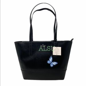 Kate Spade Adley Large Tote leather Black Women's